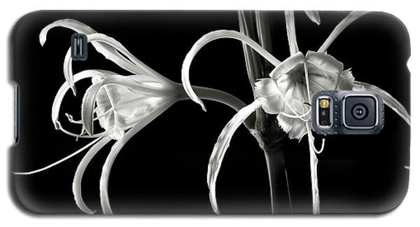 Peruvian Daffodil In Black And White Galaxy S5 Case