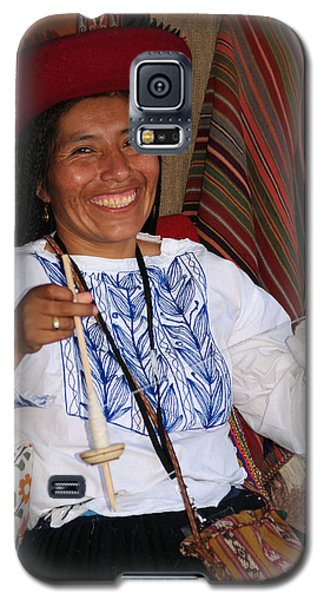 Peruvian Weaver Galaxy S5 Case