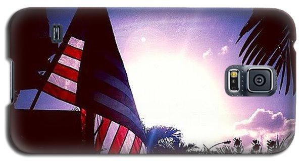 Patriotic Galaxy S5 Case - #photooftheday #pictureoftheday #pride by E  Marrero
