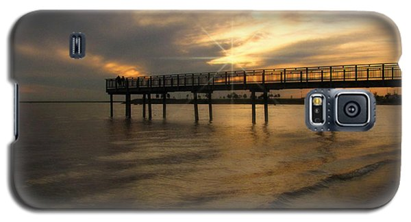 Galaxy S5 Case featuring the photograph Pier  by Cindy Haggerty