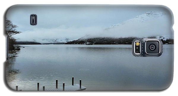 Galaxy S5 Case featuring the photograph Pier On The Loch by Lynn Bolt