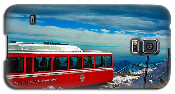 Galaxy S5 Case featuring the photograph Pikes Peak Railway by Shannon Harrington