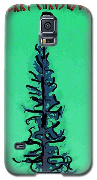 Pine Tree Christmas Galaxy S5 Case