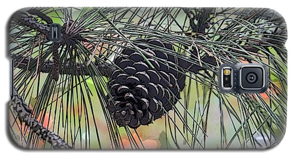 Galaxy S5 Case featuring the photograph Pinecone by Donna  Smith