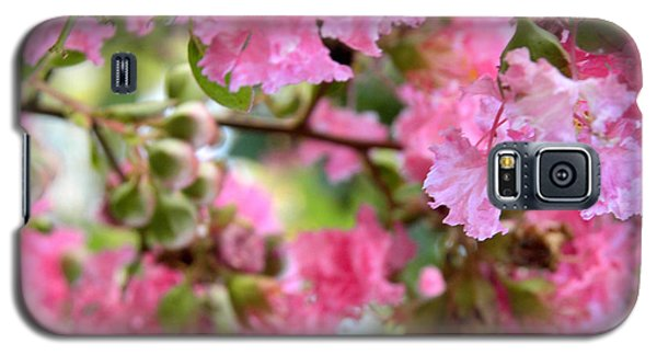 Pink Blooms Galaxy S5 Case