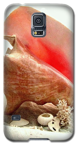 Pink Cong Shell Galaxy S5 Case