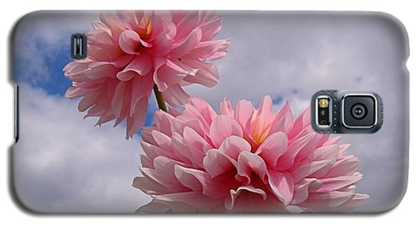 Pink Dahlia Galaxy S5 Case by Nick Kloepping