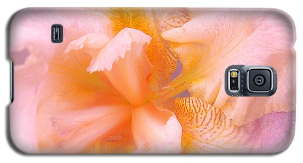 Galaxy S5 Case featuring the photograph Pink Iris by Cindy Lee Longhini