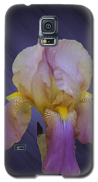 Galaxy S5 Case featuring the photograph Pink Iris by Rick Friedle