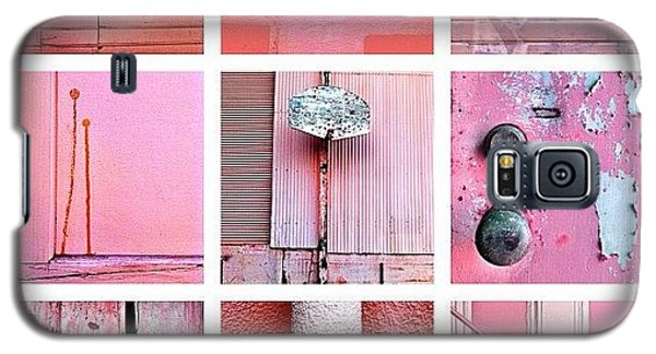 Color Galaxy S5 Case - Pink  by Julie Gebhardt