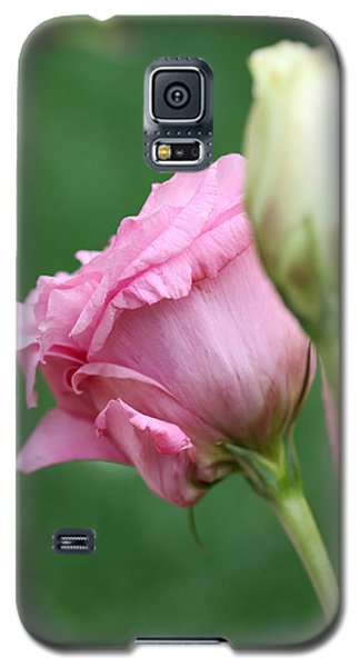 Pink Lisianthus Galaxy S5 Case