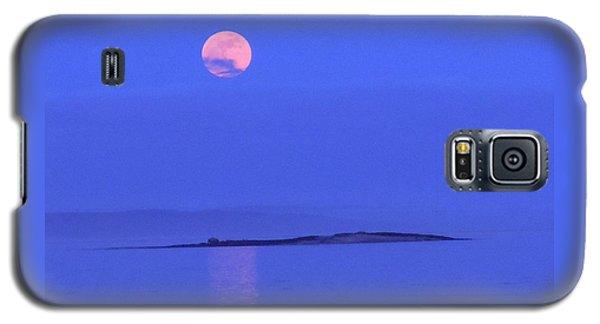 Pink May Moon Galaxy S5 Case