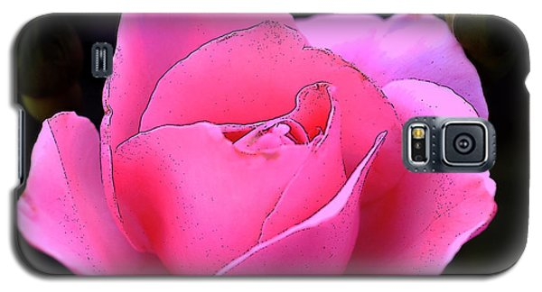 Galaxy S5 Case featuring the photograph Pink Rose Day by Clayton Bruster