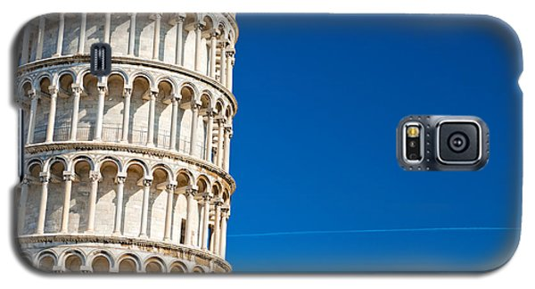 Galaxy S5 Case featuring the photograph Pisa Leaning Tower by Luciano Mortula