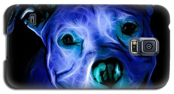 Pitbull Terrier - F - S - Bb - Blue Galaxy S5 Case