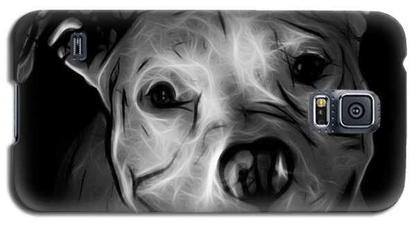 Pitbull Terrier - F - S - Bb - Greyscale Galaxy S5 Case