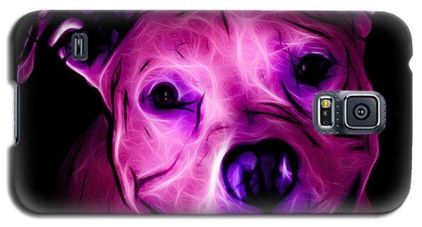 Pitbull Terrier - F - S - Bb - Magenta Galaxy S5 Case