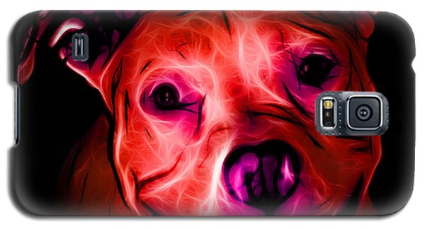 Pitbull Terrier - F - S - Bb - Red Galaxy S5 Case