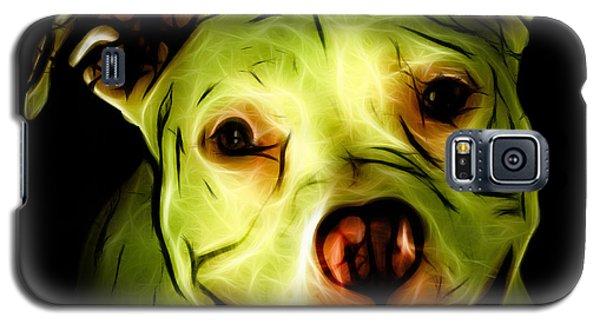 Pitbull Terrier - F - S - Bb - Yellow Galaxy S5 Case