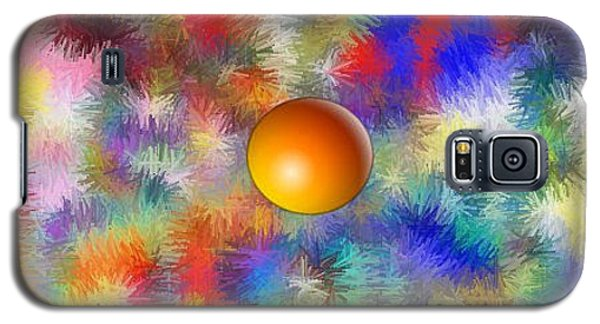 Galaxy S5 Case featuring the digital art Planet Stand Out by Alec Drake