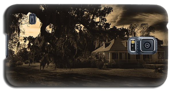 Plantation House  Galaxy S5 Case by Maggy Marsh
