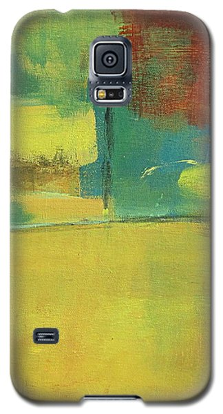 Galaxy S5 Case featuring the painting Play by Kathy Sheeran