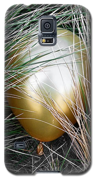 Galaxy S5 Case featuring the photograph Playing Hide And Seek by Steve Taylor