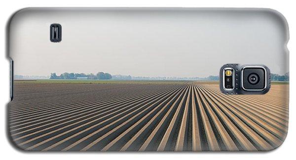 Plowed Field Galaxy S5 Case by Hans Engbers