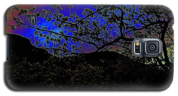 Galaxy S5 Case featuring the photograph Plum Grove At Dusk by Susanne Still