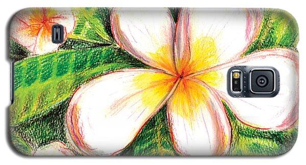 Plumeria With Foliage Galaxy S5 Case