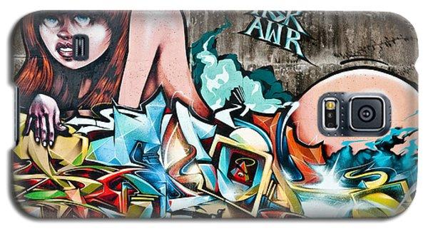 Plunged In Graffiti Galaxy S5 Case