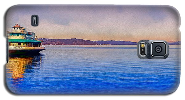 Galaxy S5 Case featuring the photograph Point Ruston Awaiting by Ken Stanback