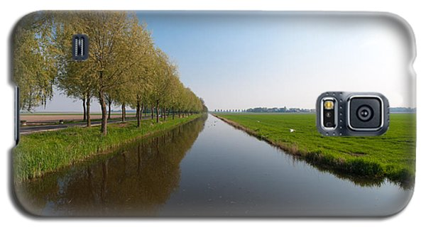 Galaxy S5 Case featuring the photograph Polder Ditch by Hans Engbers