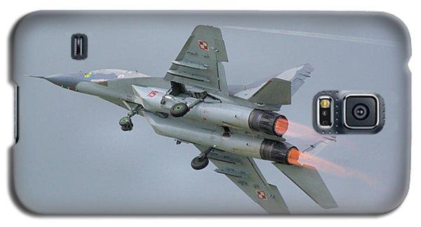 Polish Air Force Mig-29 Galaxy S5 Case by Tim Beach