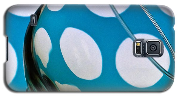 Galaxy S5 Case featuring the photograph Polka Dot Glass by Steve Purnell
