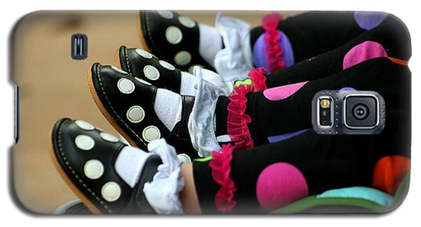 Polka Dots Feet Galaxy S5 Case