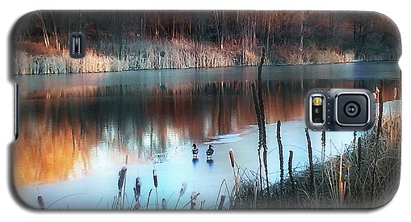 Galaxy S5 Case featuring the photograph Pond Creek by Michelle Frizzell-Thompson