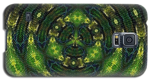 Galaxy S5 Case featuring the digital art Pond Perfect by Alec Drake