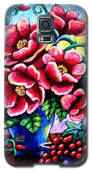 Poppin' Poppies Galaxy S5 Case