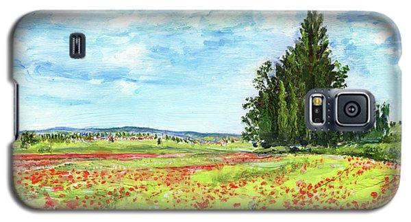 Poppy Fields Galaxy S5 Case