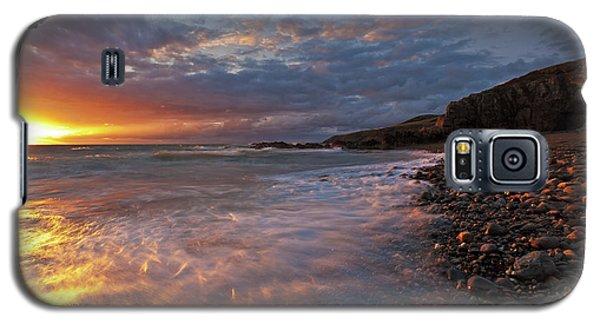 Porth Swtan Cove Galaxy S5 Case
