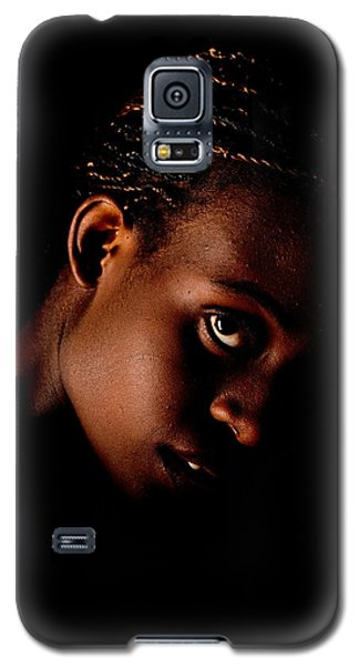 Portrait Of A Black Woman Galaxy S5 Case