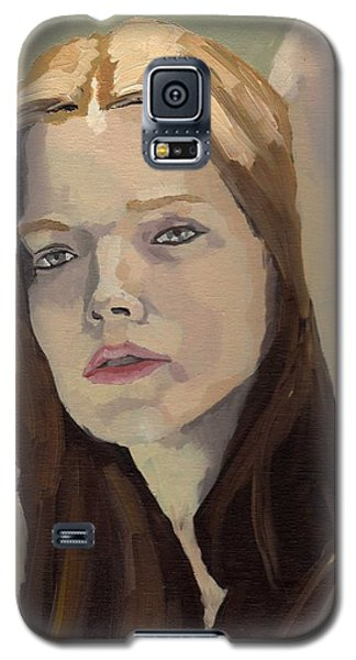Portrait Of Ashley Galaxy S5 Case