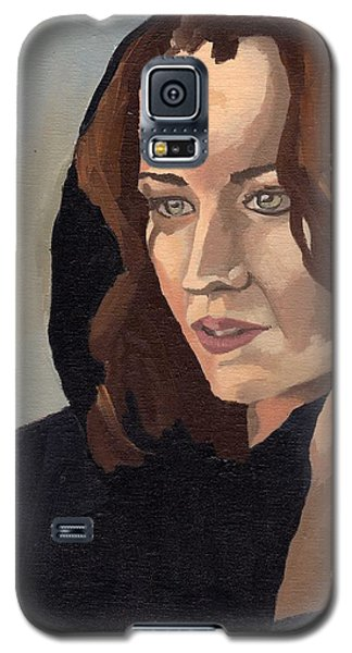Portrait Of Becca 2 Galaxy S5 Case