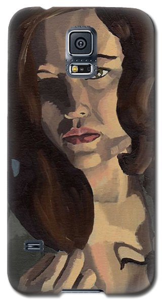 Portrait Of Emily Ann Galaxy S5 Case