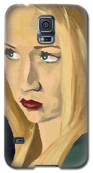 Portrait Of Emily Galaxy S5 Case