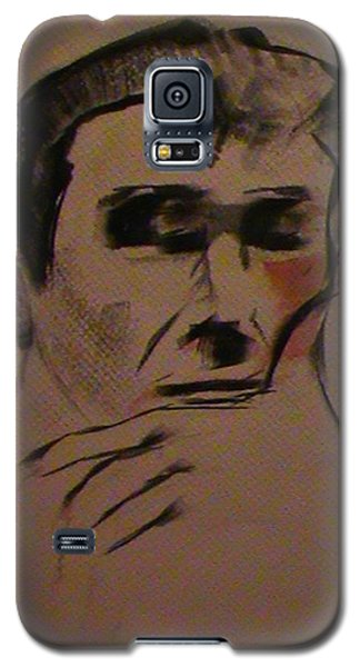 Galaxy S5 Case featuring the painting Portrait Of Frank Frazetta by George Pedro