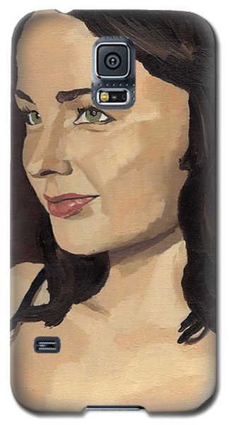 Portrait Of Solomia Galaxy S5 Case