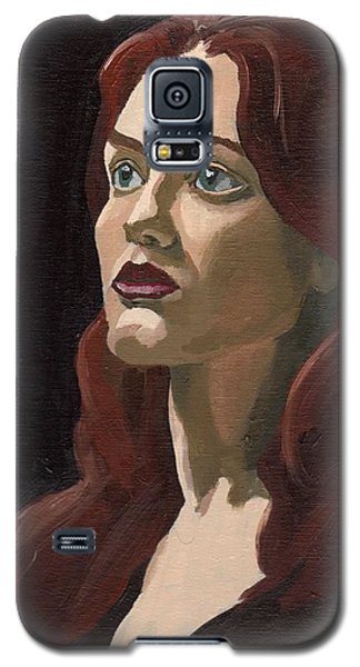 Portrait Of Virginia P Galaxy S5 Case