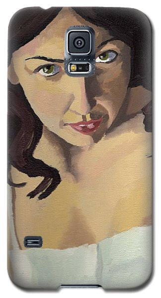 Portrait Of Zoe Galaxy S5 Case